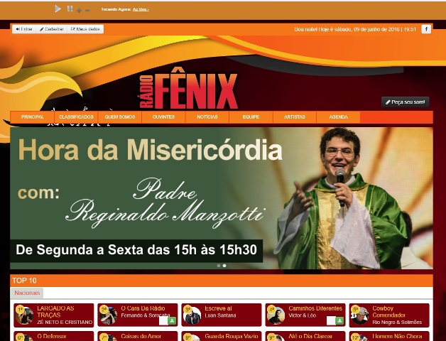 A Rádio Fenix 87,9 FM  de Juranda reforça parceria com a Secondata e reinicia atividades na Internet
